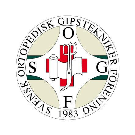 Logotyp av gips
